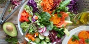 Vegatar og veganer måltidskasse